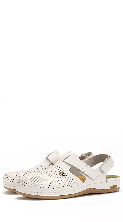 Сабо женские 951 белый